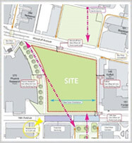 Site Map for OSU's Chemical and Biomolecular Engineering and Chemistry Building
