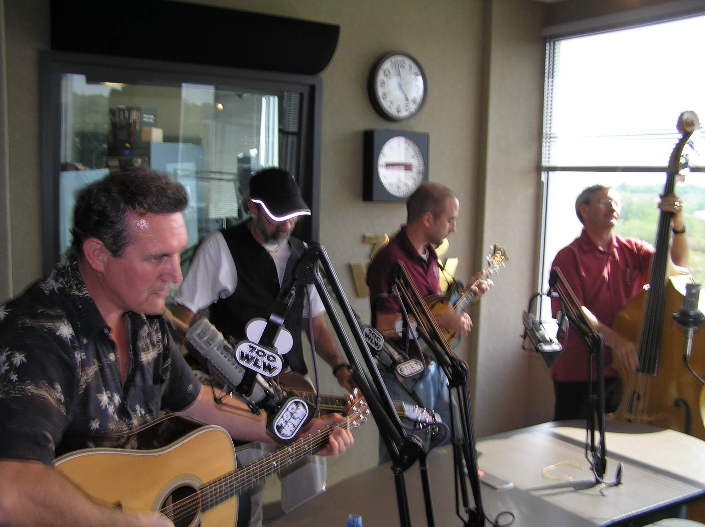 One Iota performing live on WLW radio with Gary Burbank
