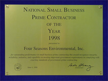SBA National Small Business Prime Contractor of the Year Award